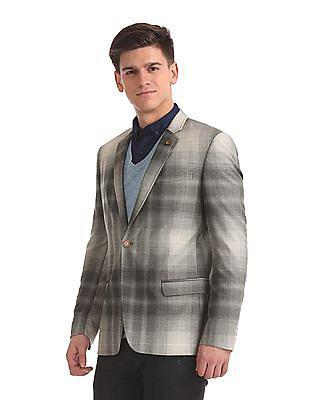 Arrow Newyork Slim Fit Single Breasted Blazer
