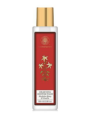 FOREST ESSENTIALS Silkening Shower Wash - Mashobra Honey And Vanilla