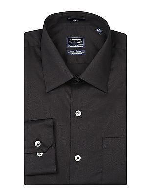 Arrow Paisley Pattern Slim Fit Shirt