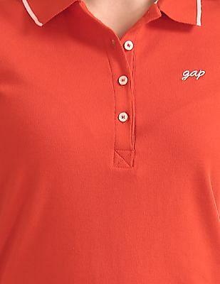 GAP Short Sleeve Solid Polo