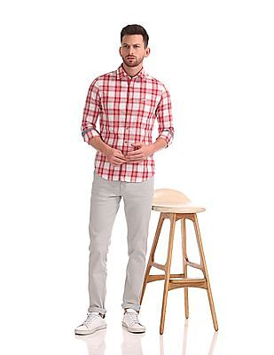 U.S. Polo Assn. Denim Co. Long Sleeve Check Shirt