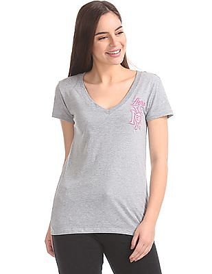 Aeropostale Regular Fit V-Neck T-shirt