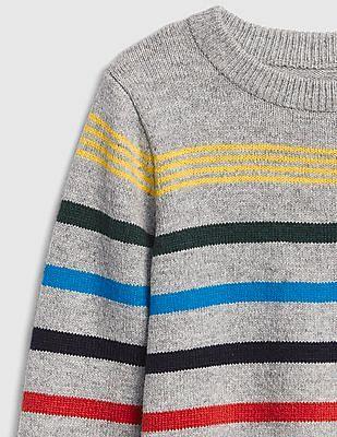 GAP Baby Crazy Stripe Crewneck Sweater
