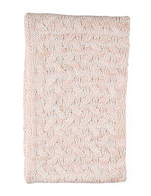 Aeropostale Patterned Knit Infinity Scarf
