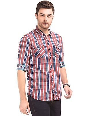 Cherokee Slim Fit Check Shirt