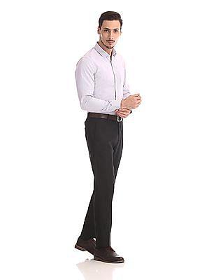 Excalibur Long Sleeve Vertical Stripe Shirt - Pack Of 2