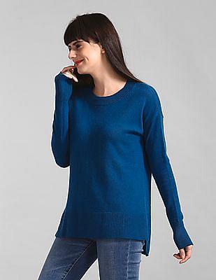 GAP Blue Crewneck Pullover Sweater Tunic