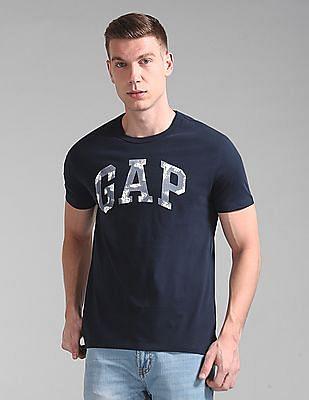 GAP Logo Print Short Sleeve T-Shirt