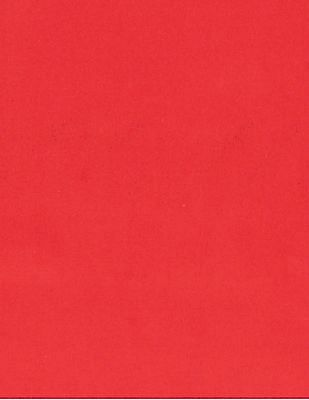 Arrow Red Contrast Hem Solid Pocket Square