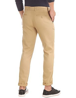 Cherokee Regular Fit Textured Trousers