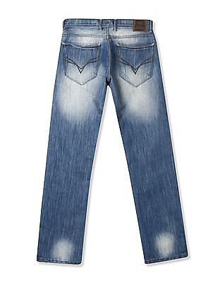 Flying Machine Bruce Regular Straight Fit Jeans