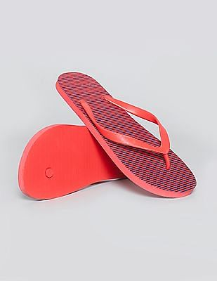 GAP V-Strap Striped Flip Flops