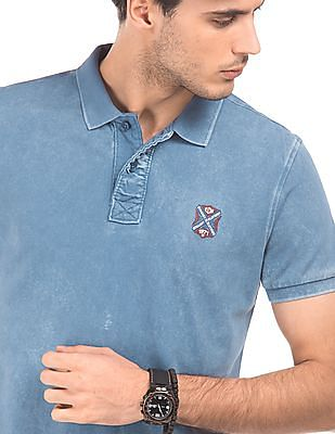 Ed Hardy Washed Regular Fit Polo Shirt