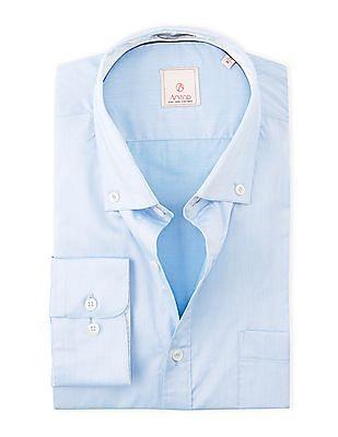Arvind Slim Fit Button Down Shirt