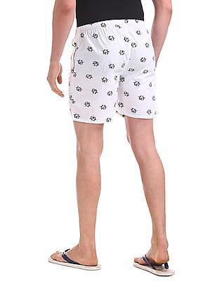 USPA Innerwear Elasticized Waist Printed Boxers