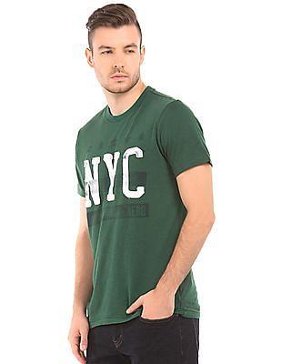 Aeropostale Regular Fit Slub T-Shirt