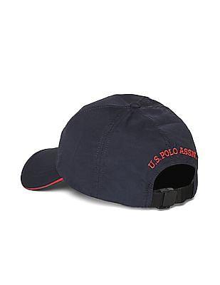 U.S. Polo Assn. Blue Embroidered Logo Cap