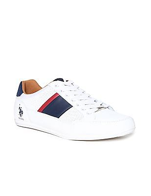 U.S. Polo Assn. Perforated Panel Lace Up sneakers