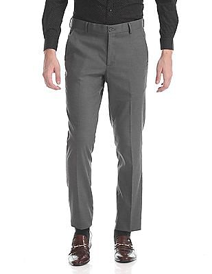 Excalibur Super Slim Fit Heathered Trousers
