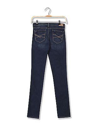 Aeropostale Skinny Fit Dark Wash Jeans