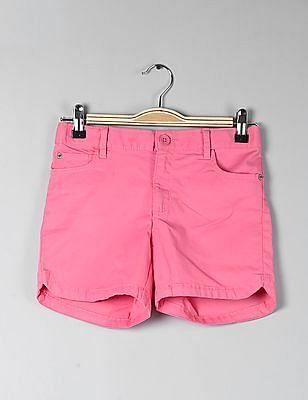 GAP Girls Twill Midi Shorts