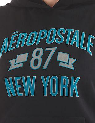 Aeropostale Printed Hooded Sweatshirt