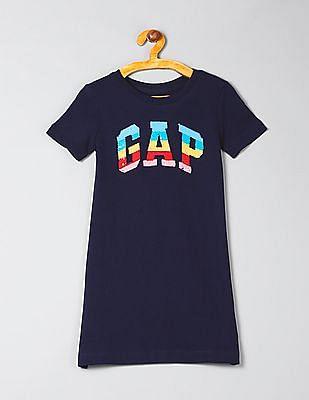 GAP Girls Flippy Sequin Dress
