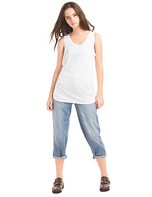 GAP Shirred Scoop Tank