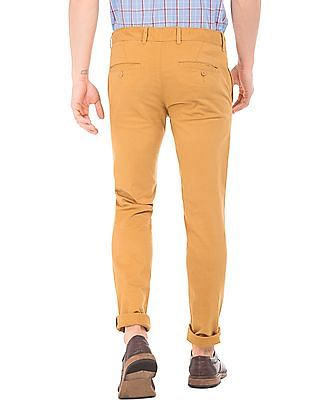 Cherokee Solid Skinny Fit Trousers