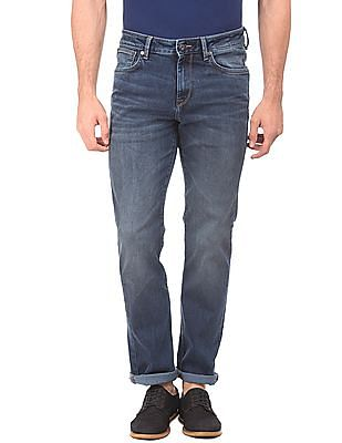 Nautica Straight Fit Stone Wash Jeans