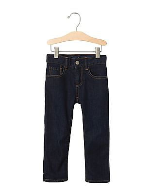 GAP Baby Blue 1969 Flannel Lined Straight Jeans