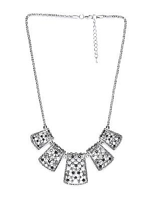 Unlimited Studded Statement Necklace