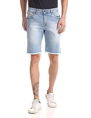 Aeropostale Washed Denim Shorts