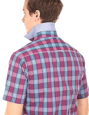 Arrow Sports Regular Fit Check Shirt