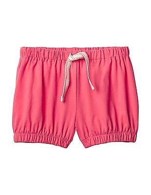 GAP Toddler Girl Pink Jersey Bubble Shorts