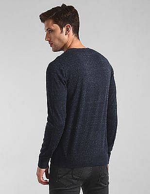 GAP Blue Mainstay Crewneck Sweater