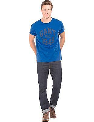 Gant Regular Fit Printed T-Shirt