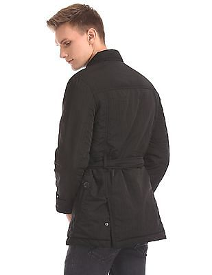 Arrow Newyork Double Breasted Belted Jacket