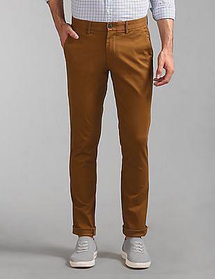 GAP Classic Skinny Fit Khakis With Gapflex