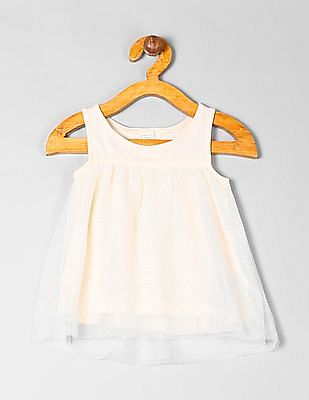 GAP Baby Shimmer Tulle Luxe Tank
