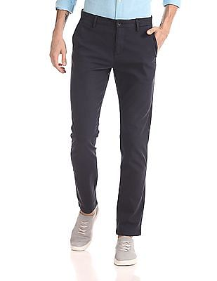 U.S. Polo Assn. Mid Rise Slim Fit Trousers
