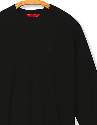 Izod Crew Neck Solid Sweater