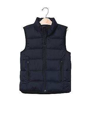 GAP Boys Blue ColdControl Max Puffer Vest