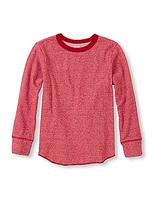The Children's Place Boys Solid Thermal T-Shirt