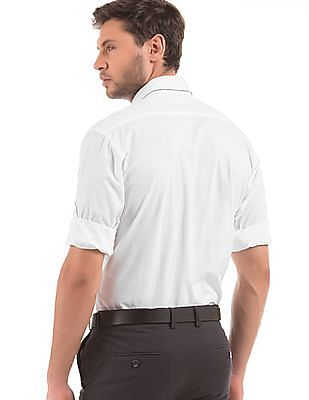 Arrow Sports Solid Regular Fit Shirt