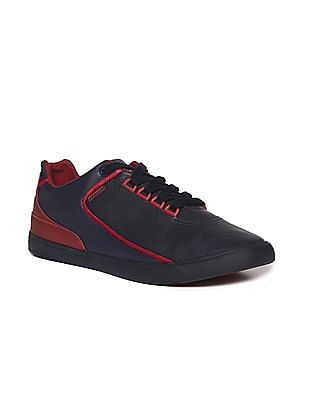 Flying Machine Round Toe Colour Block Sneakers