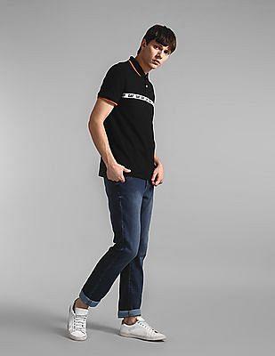 GAP Blue Slim Fit Mid Rise Jeans