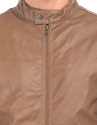 Aeropostale Faux Leather Biker Jacket