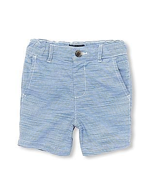 The Children's Place Toddler Boy Striped Woven Chino Shorts