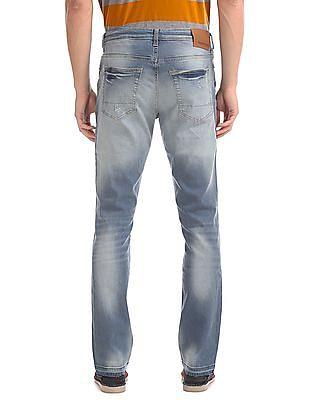 Aeropostale Skinny Fit Washed Jeans
